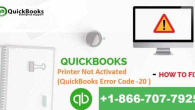 Photo of How to fix QuickBooks Error Code 20 – Printer not activated?